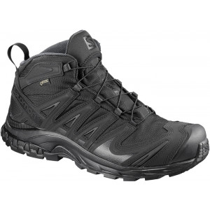 Botas SALOMON XA FORCES MID GTX All Black