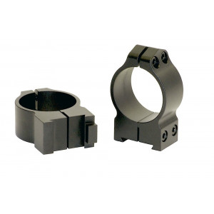 Anillas WARNE 30mm fijas para rifles BRNO con carril de 19mm - Medias