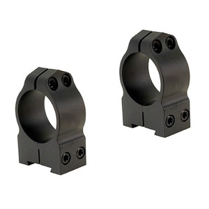 Anillas WARNE 30mm fijas para rifles BRNO con carril de 16mm - Altas