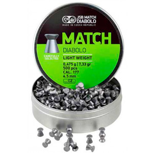 Balines JSB Match Diabolo Light 4.5 mm