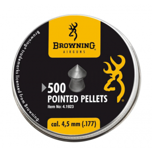Balines BROWNING Pointed 4.5 mm