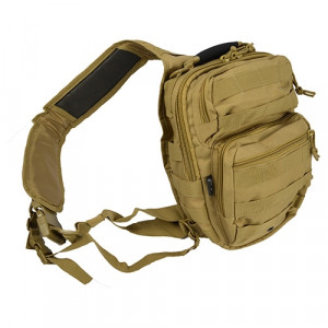 Bolso Bandolera MILTEC One Strap Assault coyote