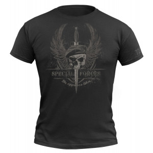 Camiseta 720gear Special Forces negra