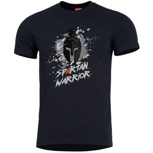 Camiseta PENTAGON Spartan Warrior negra
