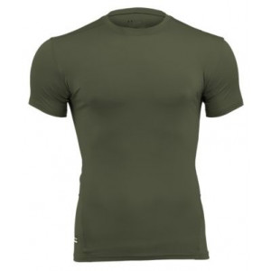Camiseta UNDER ARMOUR Tactical HeatGear Compression verde