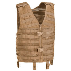 Chaleco Molle DEFCON 5 Tactical coyote