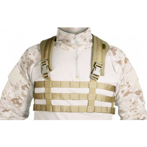 Chaleco GERONIMO Chest Rig Ultra Light coyote