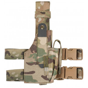 Funda Pernera WARRIOR ASSAULT Drop Leg MultiCam