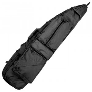 Funda Drag Bag para rifle MILTEC negra
