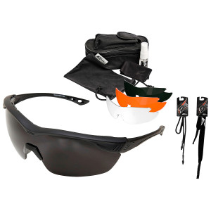 Gafas EDGE Tactical Overlord polarizadas kit 4 lentes