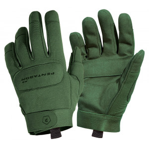 Guantes PENTAGON Duty Mechanic verdes