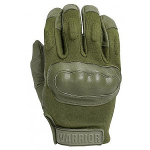 Guantes WARRIOR ASSAULT Enforcer verdes con Nomex