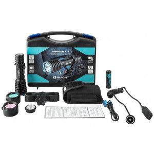 Kit de Caza Linterna OLIGHT Warrior X 2000 lúmenes Recargable
