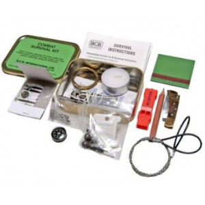 Kit de Supervivencia en Lata BCB Combat Survival Tin