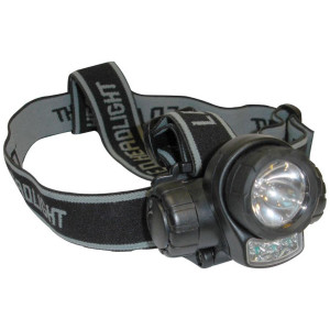 Linterna Frontal SPINIT 3+1 LED