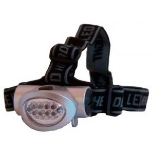 Linterna Frontal SPINIT Mega LED 8+2 Leds