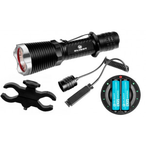 Kit de Caza Linterna OLIGHT M23 XM-L2 Recargable