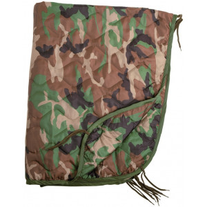 Poncho Liner US Army MILTEC Camo Woodland