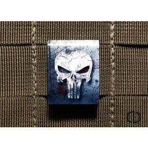 Clip MOLLE Punisher Grunge