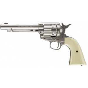 Revólver Colt Peacemaker Níquel White CO2 4.5mm