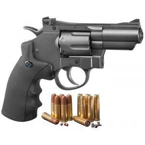Revólver CROSMAN SNR 357 Dual CO2 4.5mm