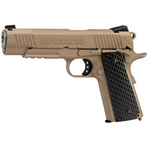 Pistola SWISS ARMS P1911 Desert CO2 4.5mm