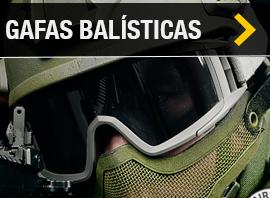 Gafas de proteccion balistica