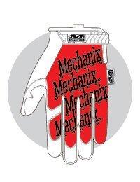 Dorso del guante Mechanix Original Wolf