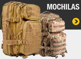 Mochilas con sistema de anclaje MOLLE