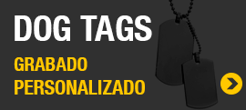 Chapas militares Dog Tags