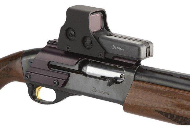 Visor holográfico para escopeta